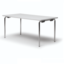 Mesa con patas abatibles
