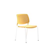 Silla espaldar y asiento plásticos estructura metálica