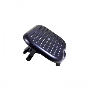 Descansapies Superficie en plástico de alta resistencia con diseño de burbujas masajeadores.  Base antideslizante.