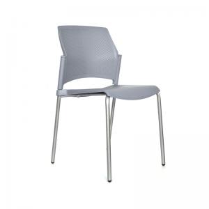 Sillas ergonómicas con espaldar  y asiento polipropileno interlocutora cafeteria restaurante